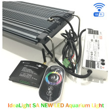 60w 90w 120w high output aluminium housing diy reef tank led aquarium lights for coral reef saltwater reef