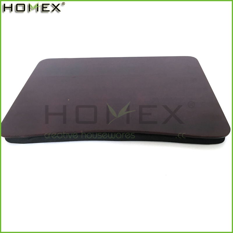 Bamboo & Memory Foam Portable Lap Desk Homex BSCI/Factory