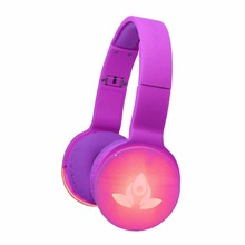Wholesale stereo sport bluetooth headphones with LED images logo or brand and powerful speaker