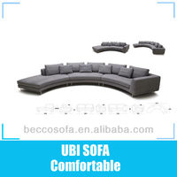 2013 New design fabric sectional sofa set