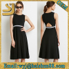 New trendy guangzhou dress cheap,cheap beautiful dresses,women black dress