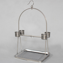 Stainless Steel bird cage stand , removable bird cage C07