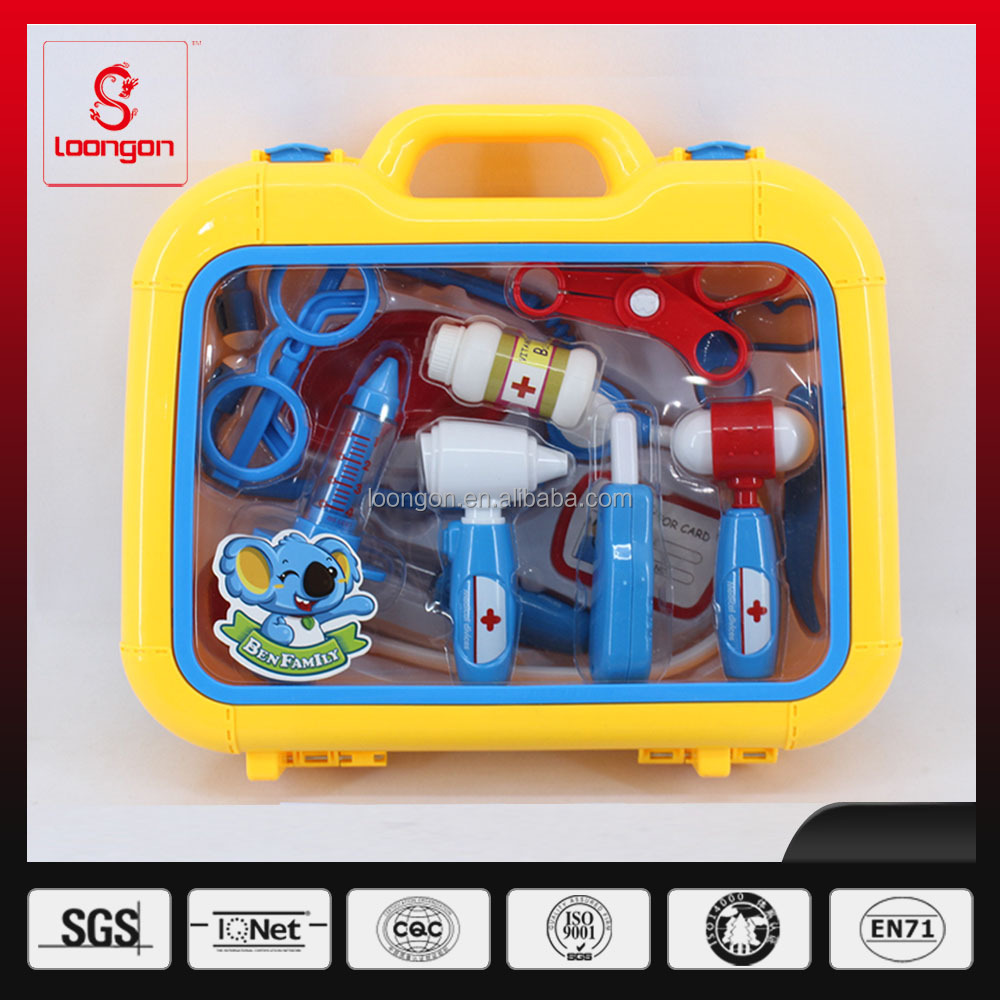 Loongon preschool toy doctor play set doctor tools doctor toys set