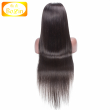 Real Brazilian Hair Silk Base Full Lace Wig With Baby Hair Silk Straight Double Knots Brazilian 360 Lace Wig