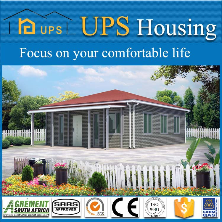UPS disaster relief prefab wooden garden house