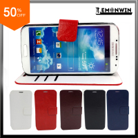 Cheap PU Leather Flip Case for Samsung Galaxy S4 IV i9500