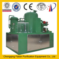no need to replace filter paper used oil recycling plant