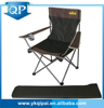 Hot cheap portable steel with cup holder and carry bag foam folding chair bed