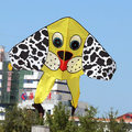the yellow dog single line delta kite