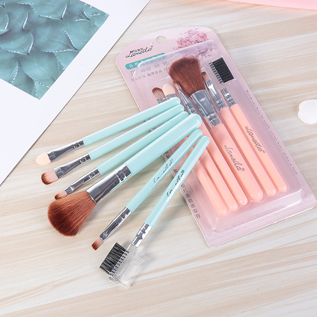 Hot sale wholesale brush cosmetic soft eyebrow eyeshadow foundation makeup set brush