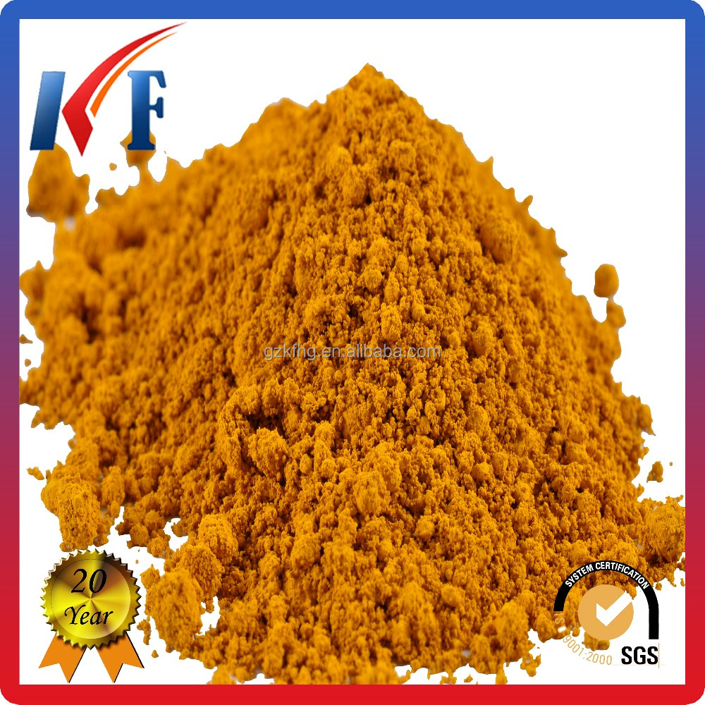 Iron Oxide Yellow organic pigment for cosmetics