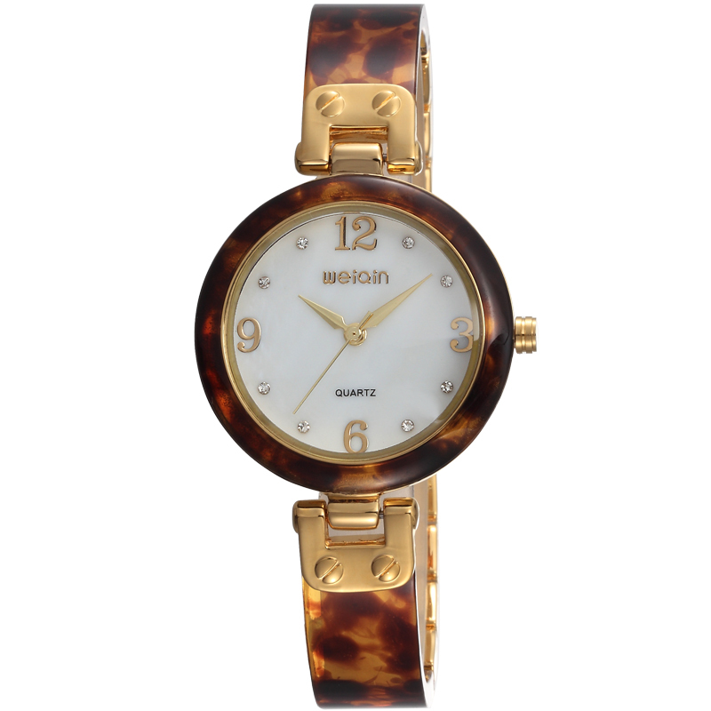 weiqin w4800 ladies vogue bracelet watch amber