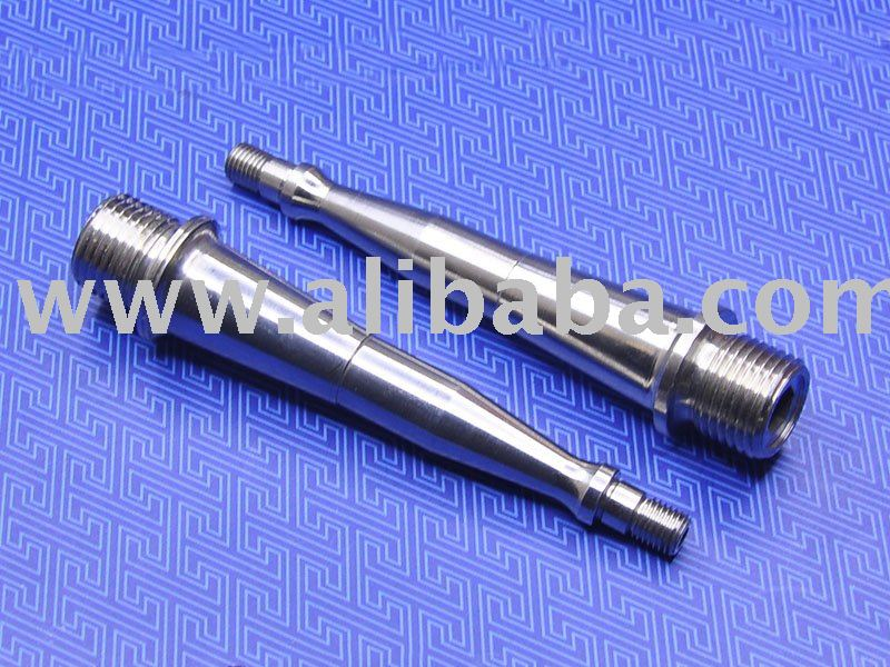Titanium Pedal Spindle for Wellgo Sars Tioga brand