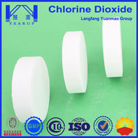 Water Treatment Chemical Usage Chlorine Dioxide Tablet 100g