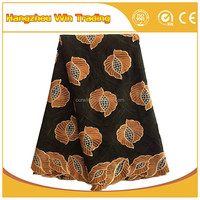 Nigerian african style high quality swiss voile lace factory in dubai cotton lace fabric uk