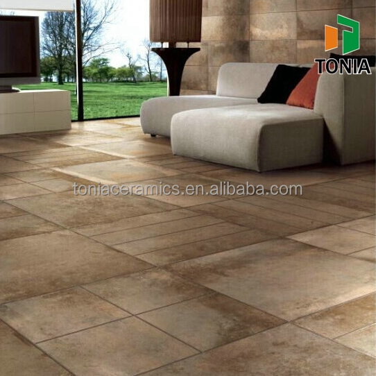 600x600 high quality living room glazed ceramic porcelain floor tiles - Porcelain Floor Tiles For Living Room