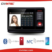 Linux web server Time Attendance Finger Print Machine With GPRS TCP/IP