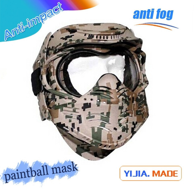 Hot sale anti-impact military army of paintball masks factory made popular safety airsoft mask