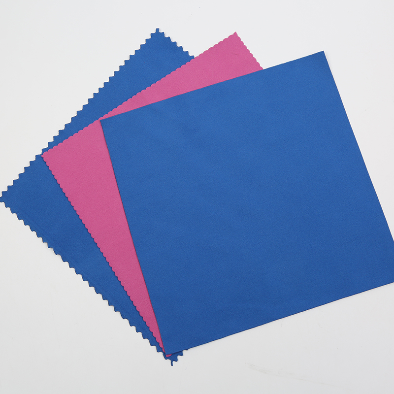 hot sale suede fabric 80 polyester 20 polyamide microfiber lens cleaning cloth