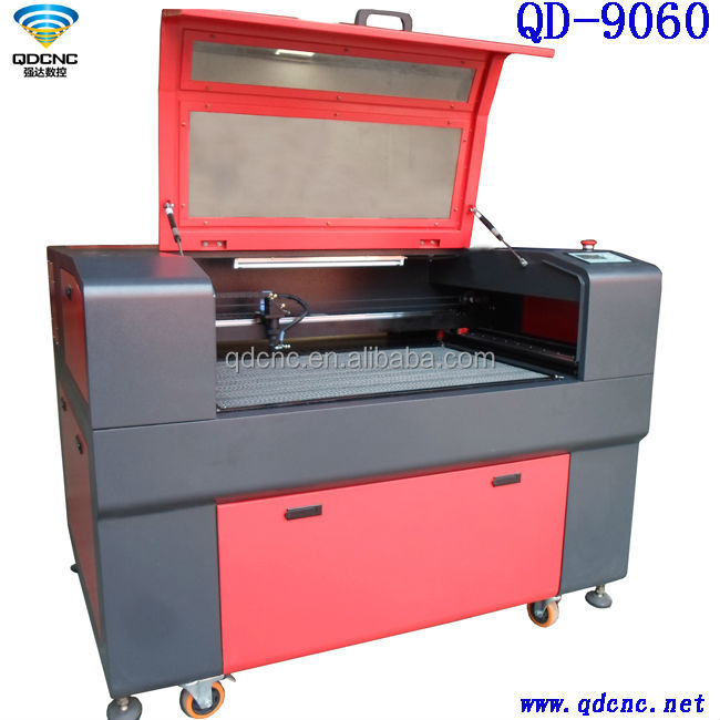 pencil etching machine/Wood/mdf laser cutting/etching machine QD-9060