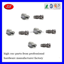 Customized Polishing, painting security Bolts and Nuts, Stainless steel cnc turning parts