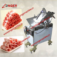 Frozen Lamb and Mutton Cutting Machine|Hot Sale Frozen Beef Roll Slicer