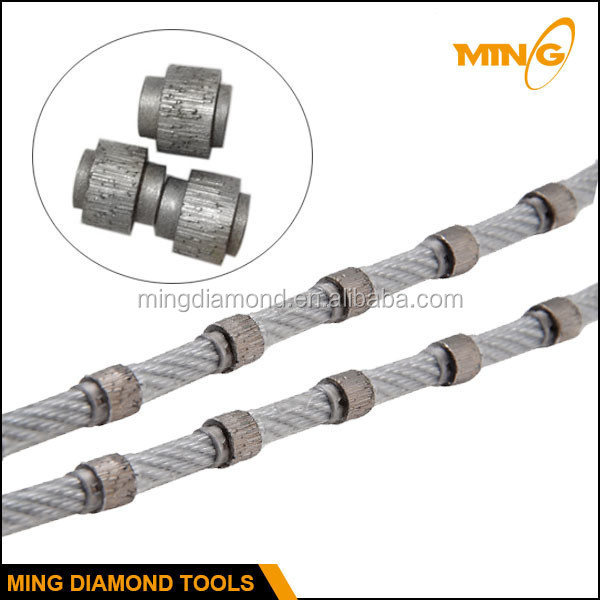 High Quality Import Steel Cable Rope Diamond Wire Saw Manufacturer ...