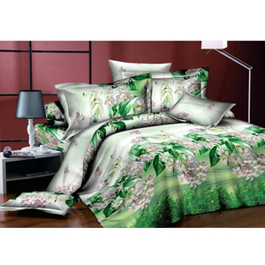 Home textile microfiber brushed polyester bedding fabric