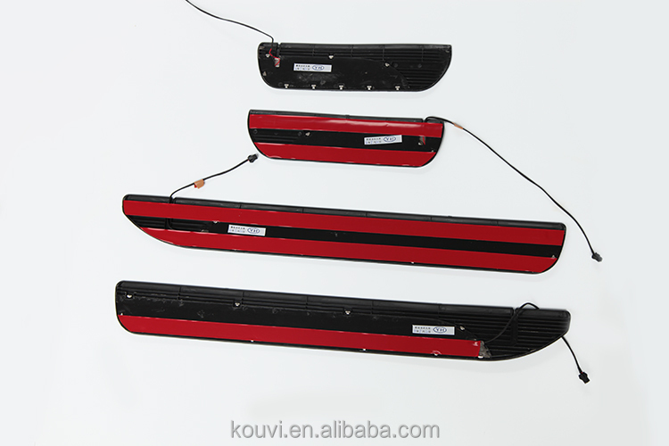 New design Auto accessories LED door sills plate OEM