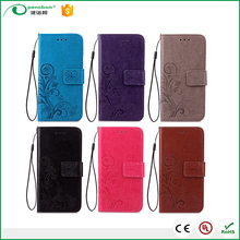 Hot sale leather wallet phone case printing mobile phone wallet case for oppo R9s plus