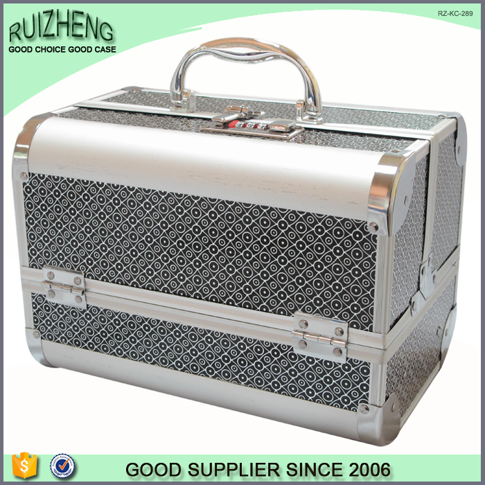 Beauty Suitcase Make Up Vanity Box Wholesale Cosmetic Case