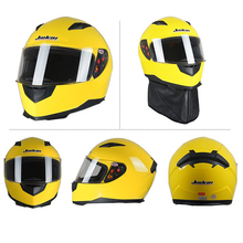 JK313 Brand Personalized Motorcycle Helmet DOT Approved Half Face Flip Up Helmets Motorbike New