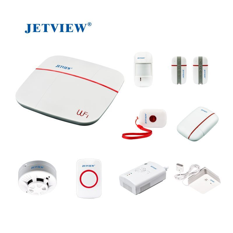 Smart Home Guardian Dual Network Wireless Intelligent Security Alarm System