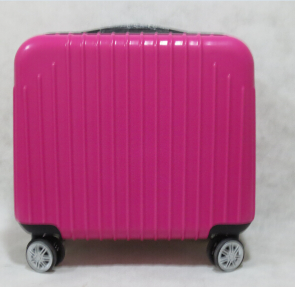 hot sale new design abs+pc material laptop case with 8 wheels
