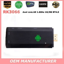 Cloudentgo CR8 / MK808 dual core A9 Rockchip RK3066 mini PC Support 3D gaming Android smart TV stick box
