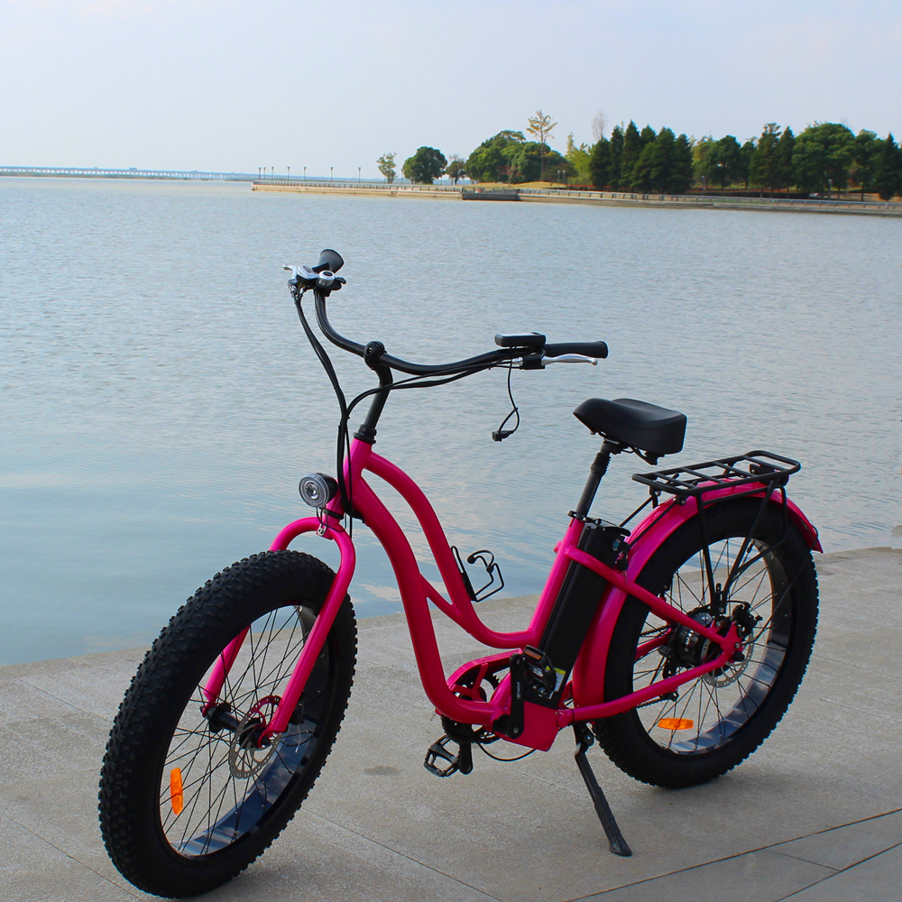 Factory wholesale <strong>price</strong> off road fat tire electric Bicycle Rear Drive bafang <strong>motor</strong> 500W electric fat tire bike RSEB506