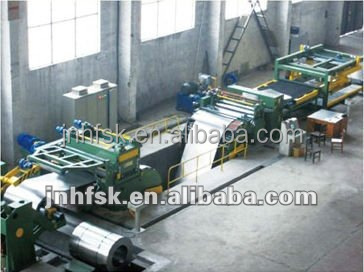 cut to length line for metals,Steel Coil and Aluminum Coil
