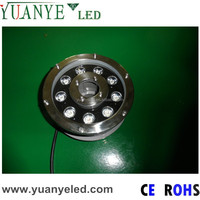 9w rgb swimming materials round IP68 led swimming pool lights