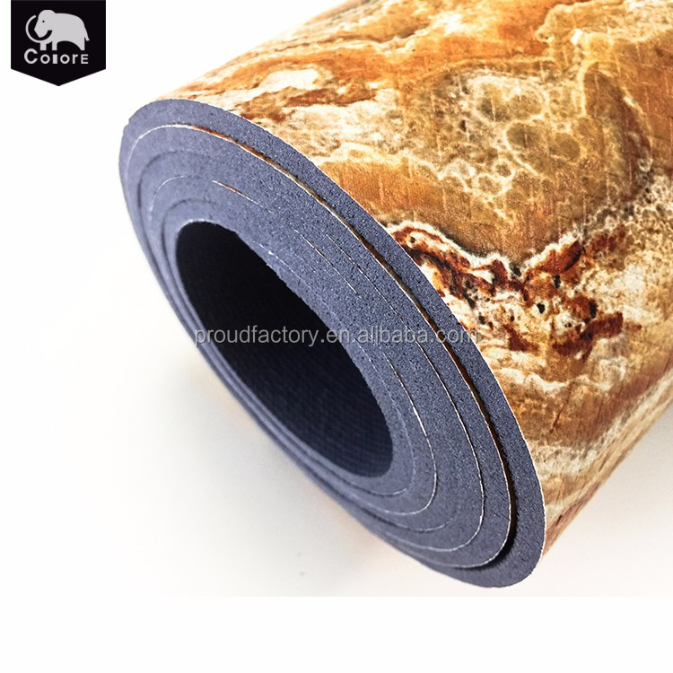 Wholesale environmentally friendly exercise mat yoga equipment for home and travel