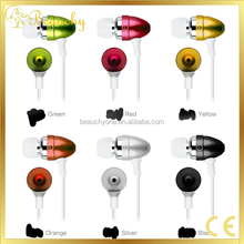 Beauchy NEW bullet shape Hot Style Long Wire Running Sport Earbud Earphone For iPhone/ Samsung