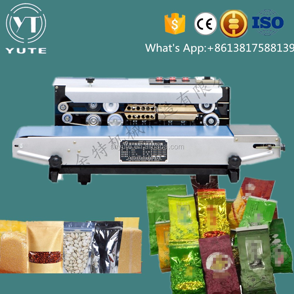 heating sealing machines / bag sealing machines/continuous band sealer