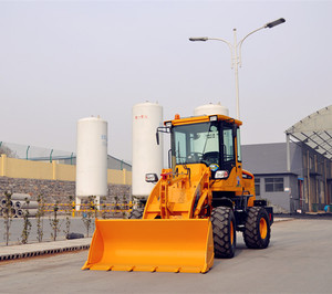 1.0t mini tractor wheel loader with price