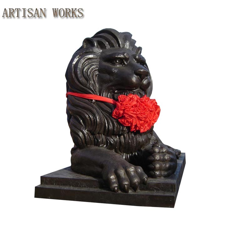 New Products Modern Arts Bronze Lion Sculpture