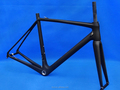 FLX-FR-322 : Carbon Matt Cycling Road Bike Frame Bicycle Fork : 50cm 52cm 54cm 56cm 58cm