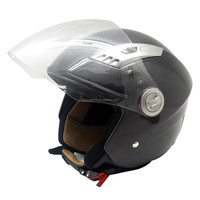 Full Face Street Helmet, 100% carbon fiber superman motorcycle helmet