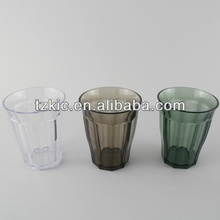 150ml roly-poly plastic tumbler clear