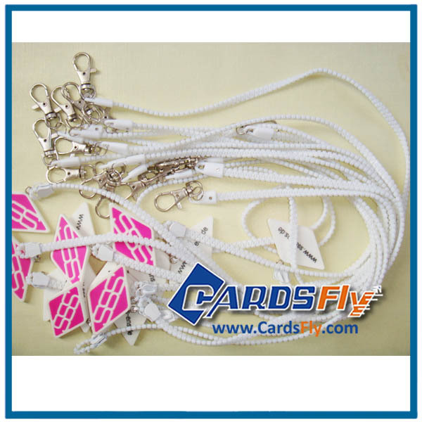 high quality custom silk printing plastic lanyard patterns