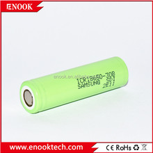 Samsung ICR 18650 30B 3.7V high capacity rechargeable li-ion green power battery for samsung battery price