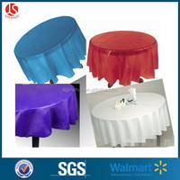 Round Table Cover/wholesale Round Decorative Table Cover