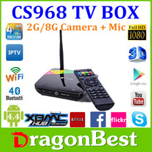 XBMC Set Top Box RK3188 CS918 Android 4.2 Smart TV Box Android TV Box Support XBMC Play Store